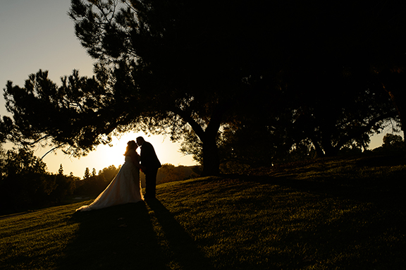 Factoring the Sunset into Your Wedding Day