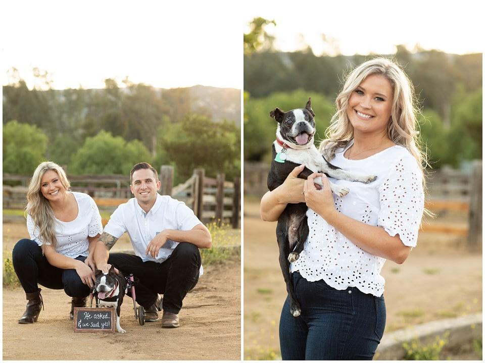 Murrieta Ranch engagement session photos by Murrieta engagement photographer Courtney McManaway Photography