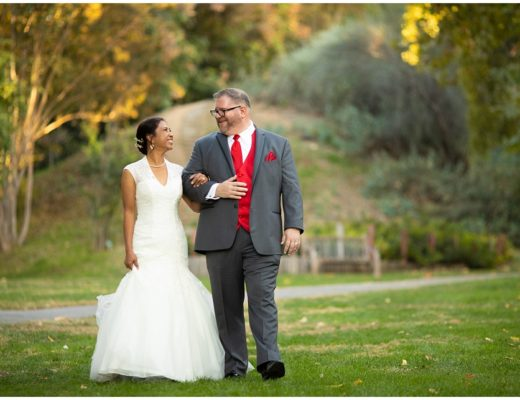 UCR Botanic Gardens Wedding Portraits