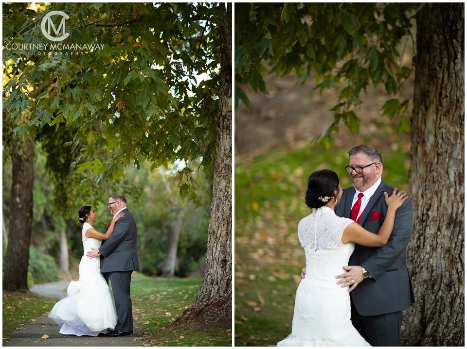 UC Riverside Botanic Garden Wedding Portraits by Riverside Wedding Photographer Courtney McManaway Photography